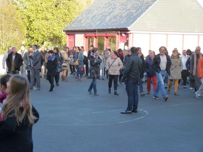 Inauguration de l'école Ardenay 28 nov - 1