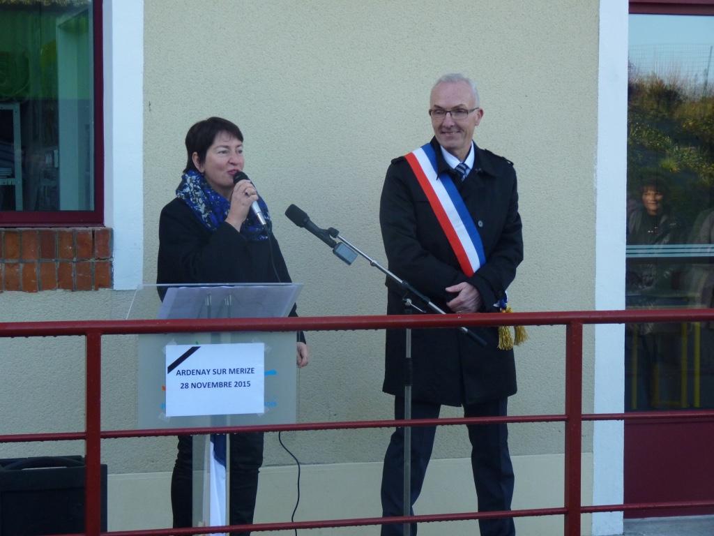 Inauguration de l'école Ardenay 28 nov - 11
