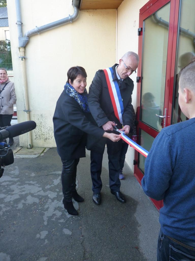 Inauguration de l'école Ardenay 28 novembre 2015
