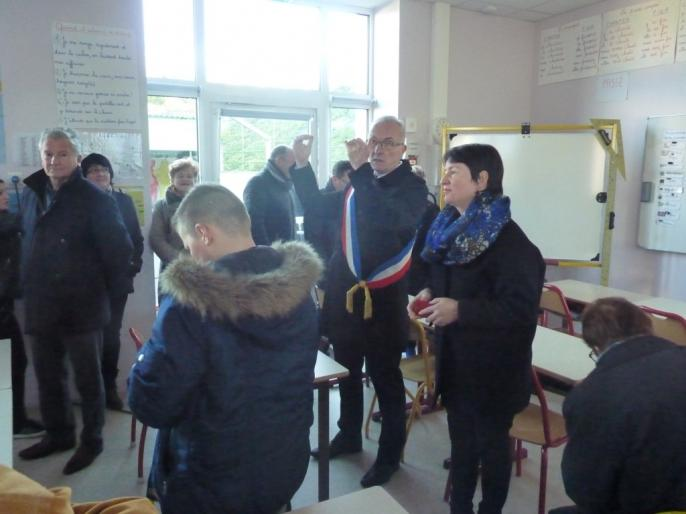 Inauguration de l'école Ardenay 28 nov - 18