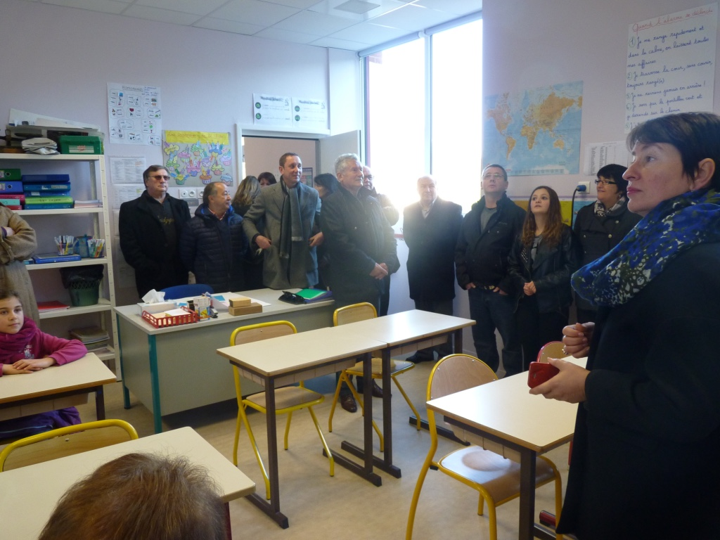 Inauguration de l'école Ardenay 28 nov - 19