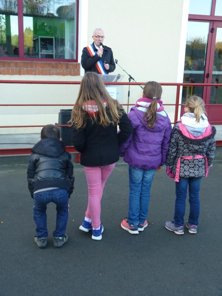 Inauguration de l'école Ardenay 28 nov - 2