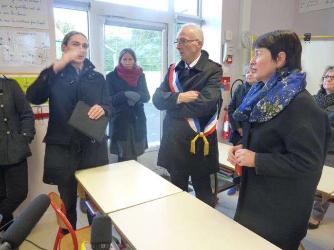 Inauguration de l'école Ardenay 28 nov - 20