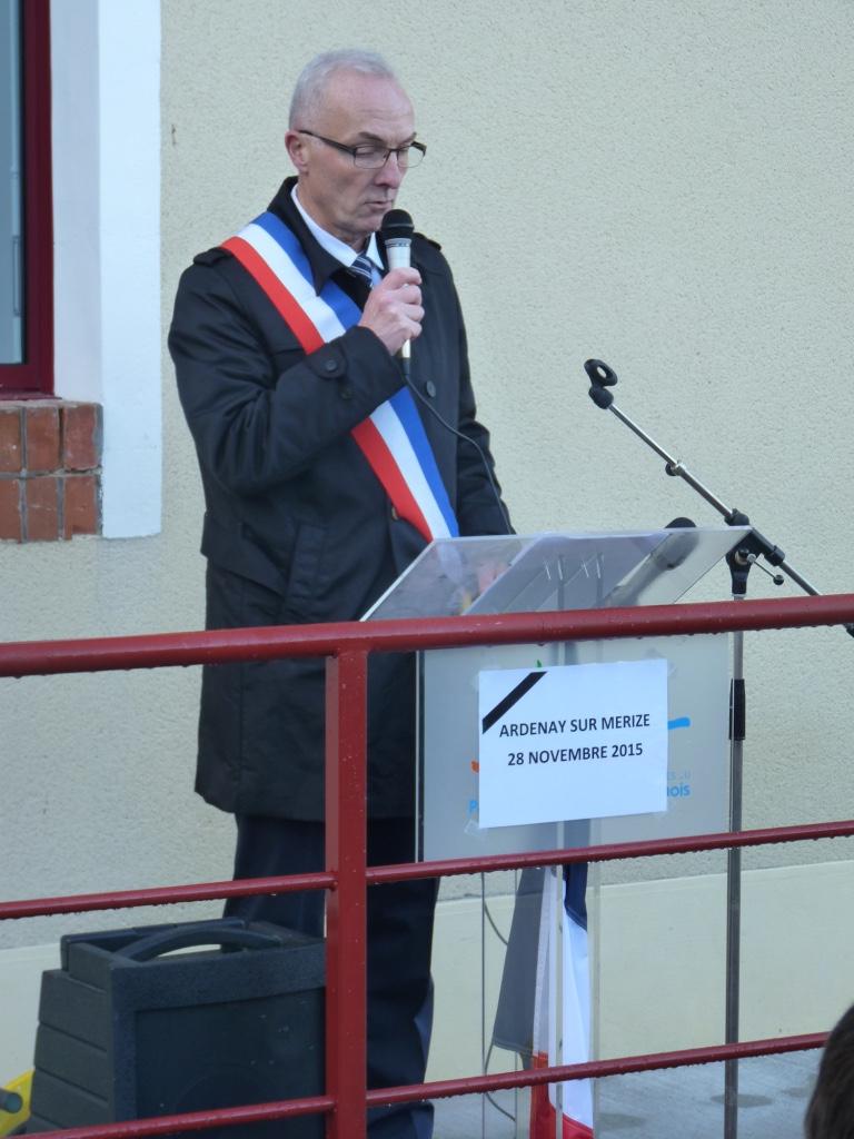 Inauguration de l'école Ardenay 28 nov - 3