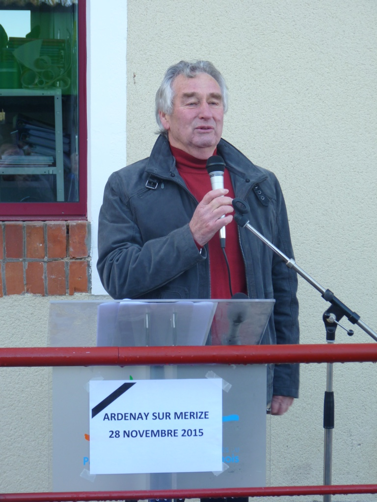Inauguration de l'école Ardenay 28 nov - 4