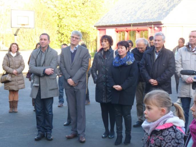 Inauguration de l'école Ardenay 28 nov - 5