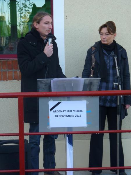 Inauguration de l'école Ardenay 28 nov - 6