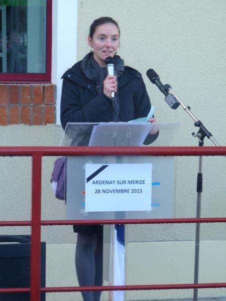 Inauguration de l'école Ardenay 28 nov - 7