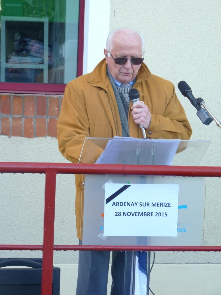 Inauguration de l'école Ardenay 28 nov - 8