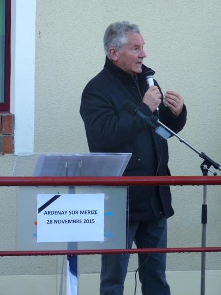 Inauguration de l'école Ardenay 28 nov - 9